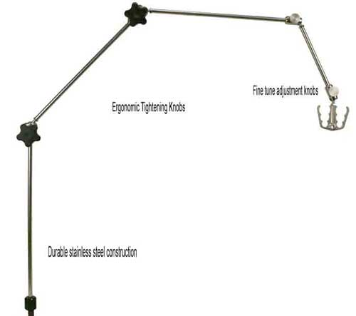 Stainless Steel Circuit Support Arm From Wt Farley